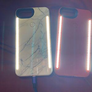 'Iphone 8+' Lumee Duo Cases